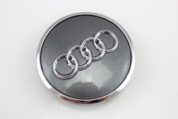 Originele Audi naafkapjes Grijs 8W0 601 170