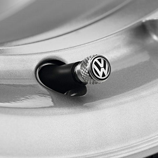 VW Ventieldoppen, rubberen / metalen ventielen