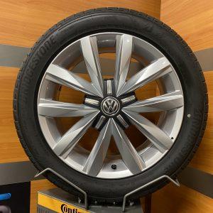 Volkswagen Transporter T6.1 SPRINGFIELD 18 inch velgen Zomerbanden 7E0601025Q MULTIVAN