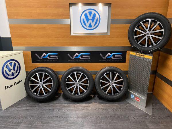 Volkswagen Transporter T6.1 CASCAVEL 17 inch velgen Zomerbanden 7E0601025L MULTIVAN