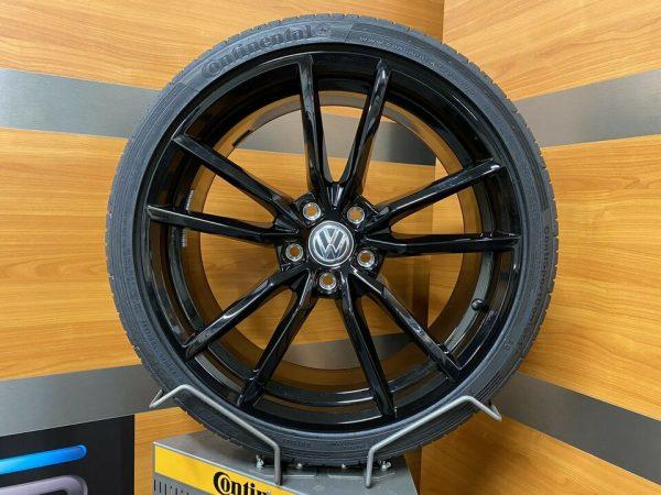 Volkswagen Golf R PRETORIA zwart 19 Inch Zomerbanden gti tcr 5G0601025AJ / 5G0601025CK