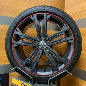 Volkswagen Golf 7 SEVILLA GTI Performance 18 Inch Zomerbanden 5G0601025 CM DR