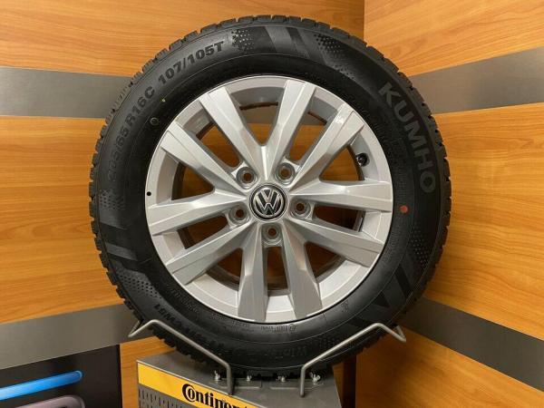 VW Transporter 16 Inch Winterbanden T5 T6 T6.1 7E0601025N